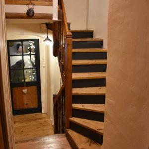 Escaliers pour monter à l'étage